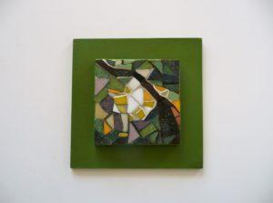 Tableau vert collection clairière