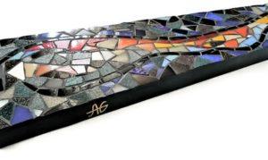 sculpture mosaique signature