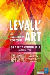 Exposition Levall'art du 7 au 27 Septembre , galerie de l'escale Levallois