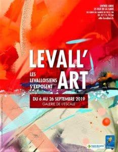 affiche Levall art 2019