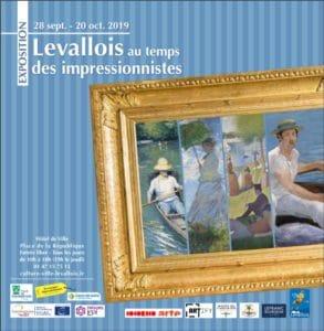Affiche Exposition Les Impressionnistes